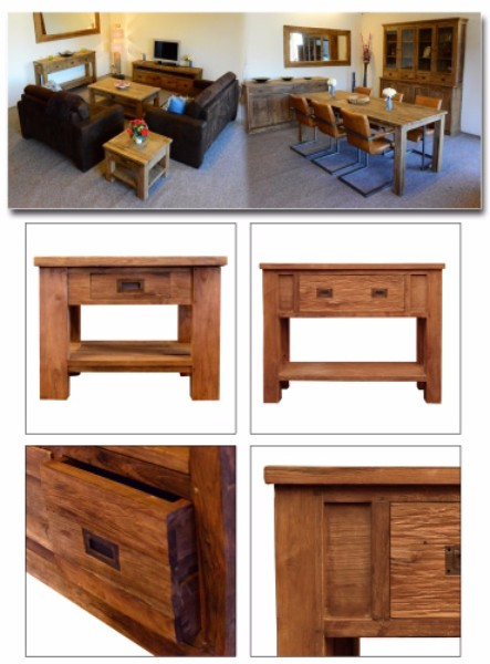 Modern rustikale Möbel - rohe shabby-chic und Teakholz-Möbel ...